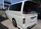 2006 Nissan Elgrand Rider Autech 2.5 Auto 8 Seater MPV (E85), Rear View, Passengers Side