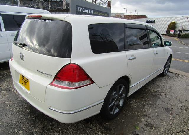 2006 Honda Odyssey 2.4 Aero Rb1 Auto 7 Seater MPV (P46), Rear View, Drivers Side