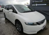2006 Honda Odyssey 2.4 Aero Rb1 Auto 7 Seater MPV (P46), Front View, Drivers Side