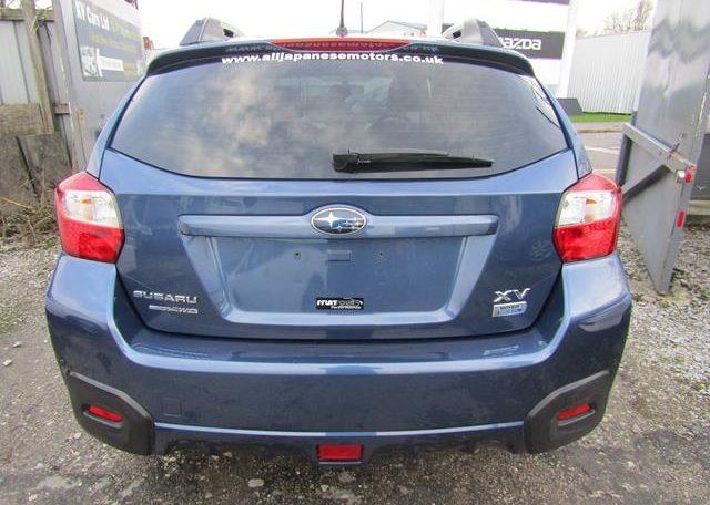 2013 Subaru Xc 2.0 Diesel 4wd Manual 5 DR (P86), Rear View.