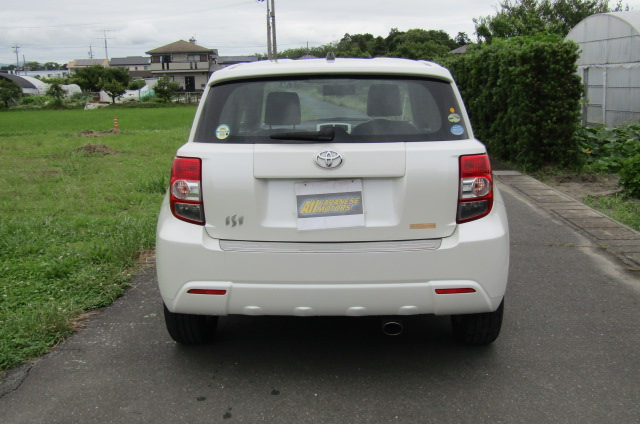 2010-toyota-ist-1-5-auto-3-dr-hatchback-i61, Rear View
