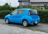 2003 Toyota Will Cypha 1.3 Auto 3 Dr Hatchback (W42), Rear View, Passengers Side.