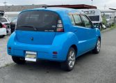 2003 Toyota Will Cypha 1.3 Auto 3 Dr Hatchback (W42), Rear View, Drivers Side.