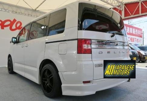 2007 Mitsubishi Delica D5 2.4 G Premium Road Est Auto 8 Seater Mpv (R59), Rear View, Passengers Side.