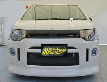 2007 Mitsubishi Delica D5 2.4 G Premium Road Est Auto 8 Seater Mpv (R59), Front View.