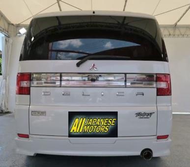 2007 Mitsubishi Delica D5 2.4 G Premium Road Est Auto 8 Seater Mpv (R59), Rear View.