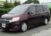 2010 Honda Stepwagon 2.0 Ivtec Auto Spada Rk5 New Shape 8 Seater Mpv (H64), Front View, Passengers Side.