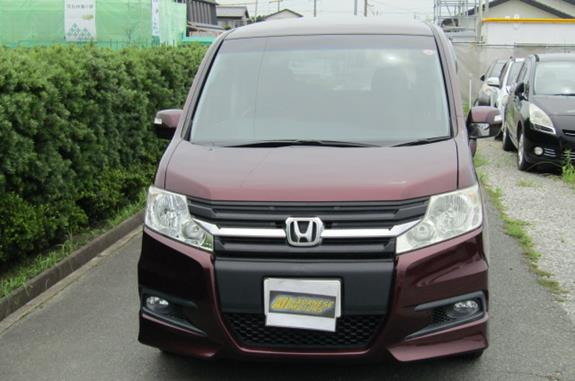 2010 Honda Stepwagon 2.0 Ivtec Auto Spada Rk5 New Shape 8 Seater Mpv (H64), Front View.