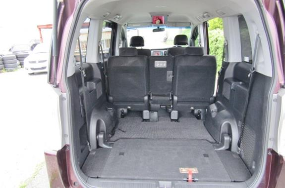 2010 Honda Stepwagon 2.0 Ivtec Auto Spada Rk5 New Shape 8 Seater Mpv (H64), Rear View, seats fully down.