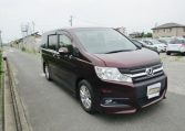 2010 Honda Stepwagon 2.0 Ivtec Auto Spada Rk5 New Shape 8 Seater Mpv (H64), Front View, Drivers Side.