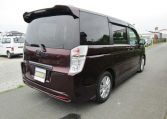 2010 Honda Stepwagon 2.0 Ivtec Auto Spada Rk5 New Shape 8 Seater Mpv (H64), Rear View, Drivers Side.