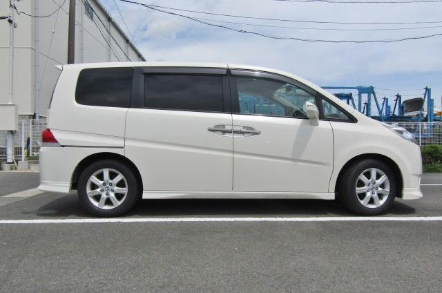 2007 Honda Stepwagon 2.4 Auto 8 Seater 24z Auto 8 Seater MPV (H4), Side View, Drivers Side