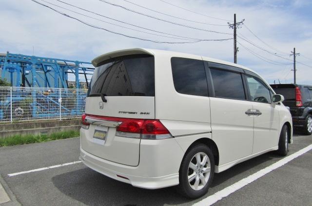 2007 Honda Stepwagon 2.4 Auto 8 Seater 24z Auto 8 Seater MPV (H4), Rear View, Drivers Side