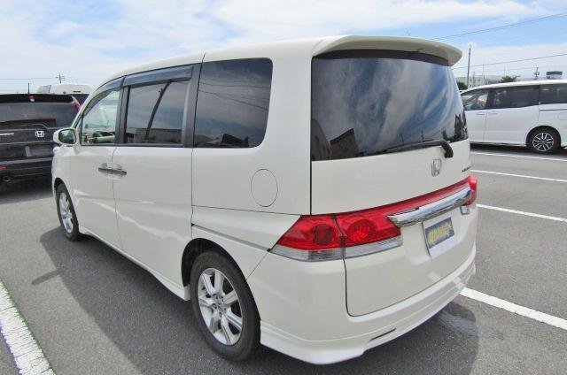 2007 Honda Stepwagon 2.4 Auto 8 Seater 24z Auto 8 Seater MPV (H4), Rear View, Passengers Side