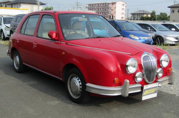 1999 Mitsuoka Viewt K11 Auto 1.0 4 Dr Saloon (T1), Front View, Drivers Side