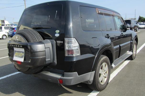 2007 Mitsubishi Pajero Facelift 3.0 V6 Auto Exceed 5 Dr Lwb 7 Seater 4wd (R2), Rear View, Drivers Side