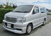 1998 Nissan Elgrand 3.3 Highway Star Auto 8 Seater MPV (E25), Front View, Passengers Side