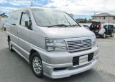 1998 Nissan Elgrand 3.3 Highway Star Auto 8 Seater MPV (E25), Front View, Drivers Side