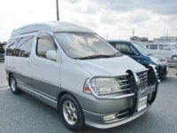 2000 Toyota Grand Hiace 3.4 V6 Hi Roof Lounge 7 Seater MPV Camper (Z8), Front View, Drivers Side