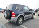 2005 Mitsubishi Pajero 3.0 V6 Auto Zr 4wd 3 Dr Swb (R93), Rear View, Drivers Side