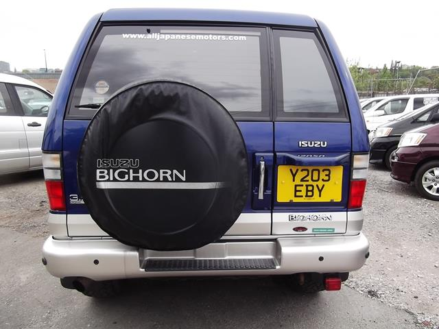 Isuzu Bighorn UK