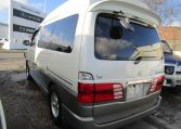 2000 TOYOTA GRAND HIACE 3.4 V6 HI ROOF LOUNGE PRESTIGE EDITION 7 SEATER MPV CAMPER DAY VAN (Z8), Rear View, Passengers Side