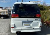 1999 Nissan Elgrand 3.3 V6 E50 Optional 4wd Rider Auto 8 Seater MPV (E12), Rear View.