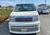 1999 Nissan Elgrand 3.3 V6 E50 Optional 4wd Rider Auto 8 Seater MPV (E12), Front View.