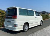 2002 Nissan Elgrand 3.5 Highway Star E50 Auto 4wd 8 Seater MPV (E69), Rear View, Drivers Side.