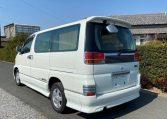 2002 Nissan Elgrand 3.5 Highway Star E50 Auto 4wd 8 Seater MPV (E69), Rear View, Passengers Side.