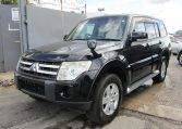 2007 Mitsubishi Pajero Facelift 3.0 V6 Auto Exceed 5 Dr Lwb 7 Seater 4WD (R2), Front View, Passengers Side