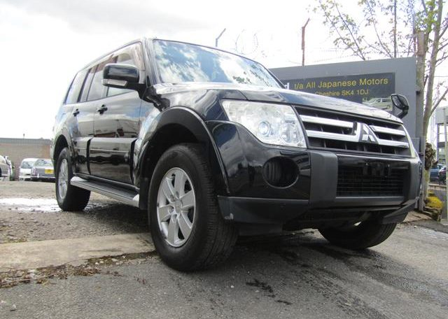 2007 Mitsubishi Pajero Facelift 3.0 V6 Auto Exceed 5 Dr Lwb 7 Seater 4WD (R2), Front View, Drivers Side 2