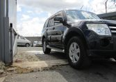 2007 Mitsubishi Pajero Facelift 3.0 V6 Auto Exceed 5 Dr Lwb 7 Seater 4WD (R2), Front View, Drivers Side 3