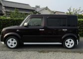 2008 Nissan Cube 1.5 Facelift Ygz11 Auto 7 Seater Mini MPV (Y59), Side View, Passengers Side