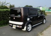 2008 Nissan Cube 1.5 Facelift Ygz11 Auto 7 Seater Mini MPV (Y59), Rear View, Drivers Side