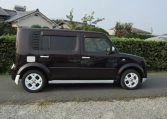 2008 Nissan Cube 1.5 Facelift Ygz11 Auto 7 Seater Mini MPV (Y59), Side View, Drivers Side