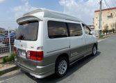 2002 Toyota Grand Hiace 3.4 V6 Ltd Edn Prestige 4WD High Roof Day Van 7 Seater MPV (K63), Rear View, Drivers Side
