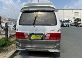 2002 Toyota Grand Hiace 3.4 V6 Ltd Edn Prestige 4WD High Roof Day Van 7 Seater MPV (K63), Rear View