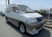 2002 Toyota Grand Hiace 3.4 V6 Ltd Edn Prestige 4WD High Roof Day Van 7 Seater MPV (K63), Front View, Drivers Side