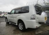 2007 Mitsubishi Pajero 3.0 V6 Super Exceed 4WD 7 Seater 5 dr Auto LWB Facelift (P7), Rear View, Passengers Side