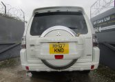 2007 Mitsubishi Pajero 3.0 V6 Super Exceed 4WD 7 Seater 5 dr Auto LWB Facelift (P7), Rear View