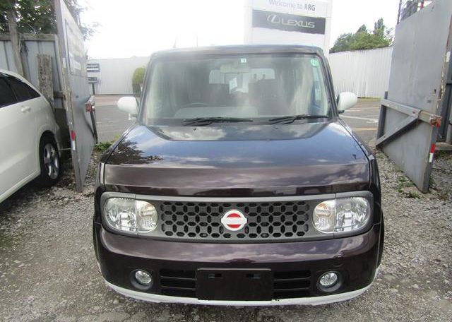 2008 NISSAN CUBE 1.5 FACELIFT YGZ11 AUTO 7 SEATER MINI MPV (Y59), Front View