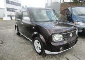 2008 NISSAN CUBE 1.5 FACELIFT YGZ11 AUTO 7 SEATER MINI MPV (Y59), Front View, Drivers Side