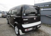 2008 NISSAN CUBE 1.5 FACELIFT YGZ11 AUTO 7 SEATER MINI MPV (Y59), Rear View, Passengers Side