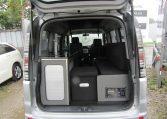 2003-HONDA-STEPWAGON-2.0-AUTO-SPADA-POP-TOP-ROOF-2-BERTH-CAMPER-VAN-(Z1), Rear View boot open