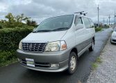 2001 Toyota Grand Hiace 3.4 V6 4WD Auto 8 Seater MPV (K36), Front View, Passengers Side