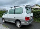 2001 Toyota Grand Hiace 3.4 V6 4WD Auto 8 Seater MPV (K36), Rear View, Passengers Side