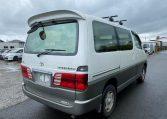 2001 Toyota Grand Hiace 3.4 V6 4WD Auto 8 Seater MPV (K36), Rear View, Drivers Side